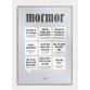 Mormor plakat, M (50x70, B2)