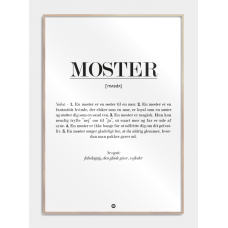 Moster definition plakat, M (50x70, B2)