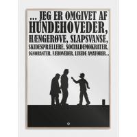 Olsen Banden plakat, M (50x70, B2)