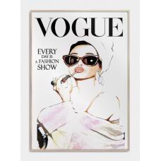 Vogue cover No2 plakat, M (50x70, B2)