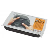 Selvhærdende ler - sort (1000 g)