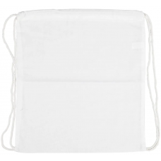 Skopose/gymnastikpose - hvid (37x41 cm)
