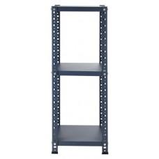 Reol, blå (35x35x92 cm)