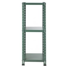 Reol, grøn (35x35x92 cm)