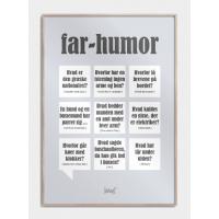Far humor plakat, S (30x42, A3)