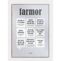 Farmor plakat, S (30x42, A3)