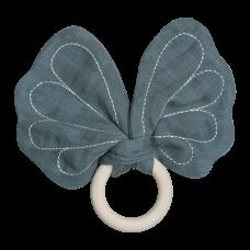 Bidering, sommerfugl - blå