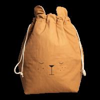 Opbevaringspose, bjørn - ochre