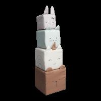 Soft blocks, animals