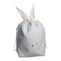 Opbevaringspose, kanin - Icy Grey