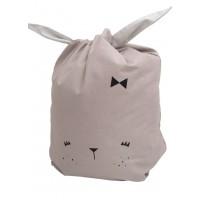 Opbevaringspose, kanin - Mauve