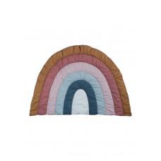 Tæppe, regnbue