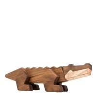 Krokodille træfigur