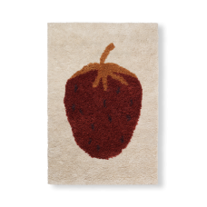Gulvtæppe, fruiticana - jordbær (str. L)
