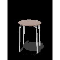 Herman stol, mørk rose