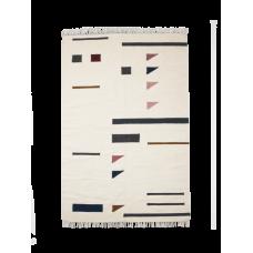 Kelim rug - Colour triangles (str. M)
