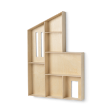 Miniature Funkis House, Shelf - Natur
