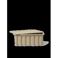 Paper Pulp Box Stor - Sæt med 2
