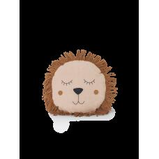 Safari pude, løve - rosa