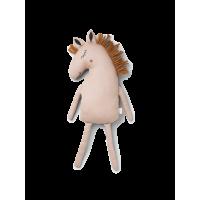 Heste bamse/pyntepude, rosa