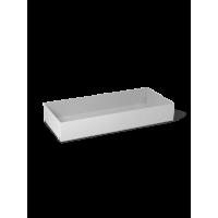 Shelf box, light grey