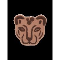 Tufted tæppe, Leopardhoved