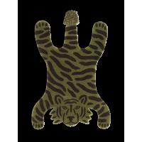Tufted tæppe, tiger