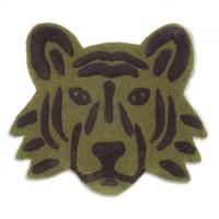 Tufted tæppe, Tigerhoved - Grøn