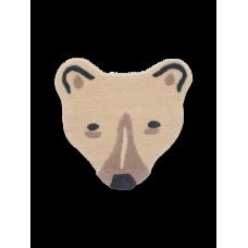Tufted tæppe, isbjørnehoved