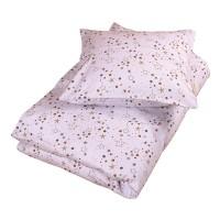 Junior sengetøj, stars light lavender