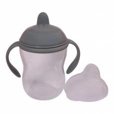 Drikkekop med håndtag, 270 ml - Dark Grey