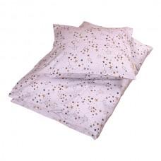 Baby sengetøj, stars light lavender
