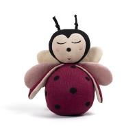 Væltebamse - Lullu the ladybug, Deeply Red