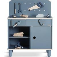 Arbejdsbænk / Værktøjsbænk, blå
