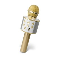 Trådløs mikrofon, guld