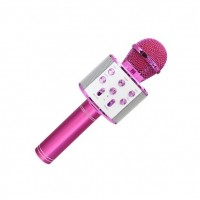 Trådløs mikrofon, pink