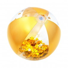 Badebold, guld med glimmer