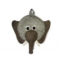 Rygsæk m. elefant