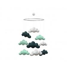 Uro, skyer - Mint/mørkegrøn