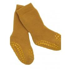 Non-slip sokker, str. 20-22 (1-2 år) - mustard