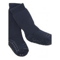 Non-slip sokker, str. 17-19 (6-12 mdr.) - navy blue