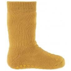 Non-slip sokker, str. 17-19 (6-12 mdr.) - mustard