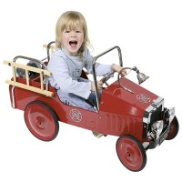 Pedal bil - brandbil