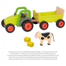 Traktor med trailer