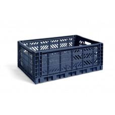 HAY kasse: Navy, Large