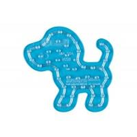 Hama maxi perleplade - lille hund