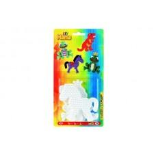 Stiftplader (frø, dinosaur, pony)