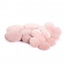 Blomster puder sæt, 3 stk., baby pink
