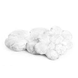 Blomster puder sæt, 3 stk., marmor
