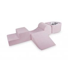 Rutchebane & boldbassin - Lite Play System, baby pink